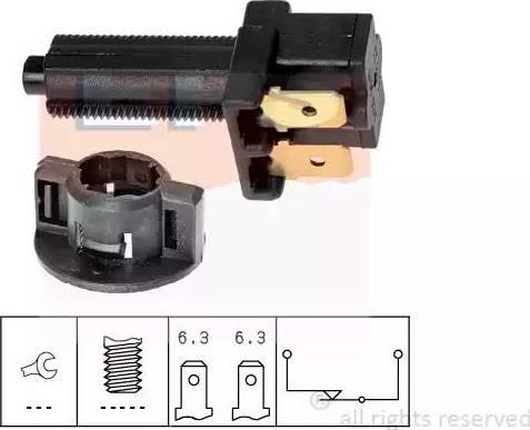 EPS 1.810.041 - Włącznik żwiateł STOP intermotor-polska.com