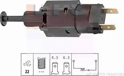 EPS 1.810.050 - Włącznik żwiateł STOP intermotor-polska.com