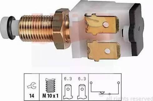 EPS 1.810.009 - Włącznik żwiateł STOP intermotor-polska.com