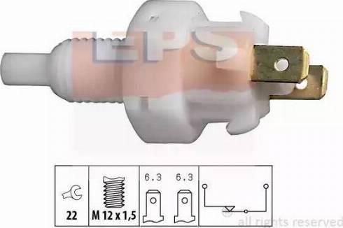 EPS 1.810.004 - Włącznik żwiateł STOP intermotor-polska.com