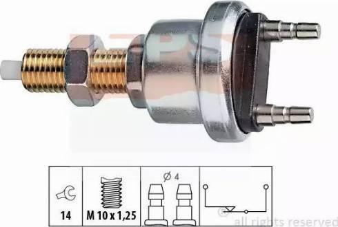 EPS 1.810.006 - Włącznik, wysprzęglanie (GRA) intermotor-polska.com