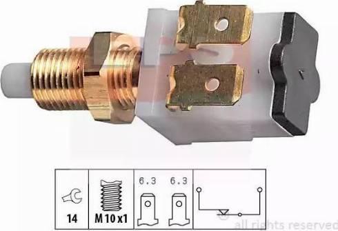 EPS 1.810.007 - Włącznik żwiateł STOP intermotor-polska.com