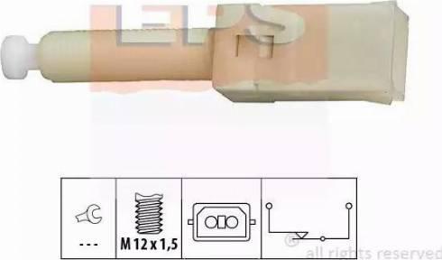 EPS 1.810.087 - Włącznik żwiateł STOP intermotor-polska.com