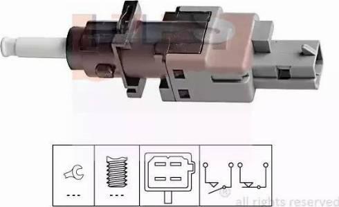 EPS 1.810.196 - Włącznik, wysprzęglanie (GRA) intermotor-polska.com