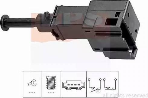 EPS 1.810.151 - Włącznik żwiateł STOP intermotor-polska.com