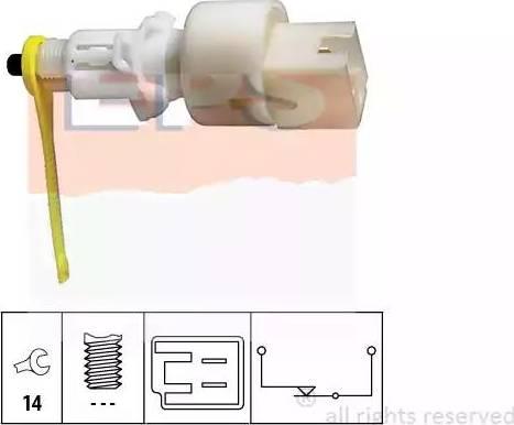 EPS 1.810.153 - Włącznik, wysprzęglanie (GRA) intermotor-polska.com
