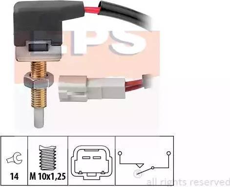 EPS 1.810.167 - Włącznik, wysprzęglanie (GRA) intermotor-polska.com