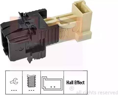 EPS 1.810.312 - Włącznik, wysprzęglanie (GRA) intermotor-polska.com