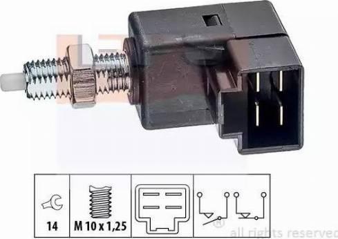 EPS 1.810.294 - Włącznik, wysprzęglanie (GRA) intermotor-polska.com