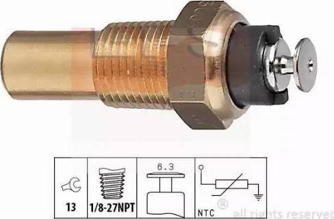 EPS 1.830.005 - Czujnik, temperatura płynu chłodzącego intermotor-polska.com