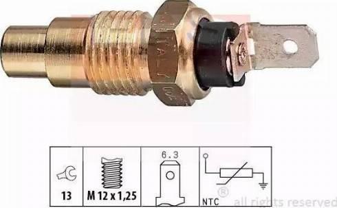 EPS 1.830.078 - Czujnik, temperatura płynu chłodzącego intermotor-polska.com