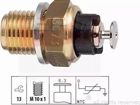 EPS 1.830.073 - Czujnik, temperatura płynu chłodzącego intermotor-polska.com