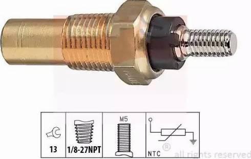 EPS 1.830.124 - Czujnik, temperatura płynu chłodzącego intermotor-polska.com