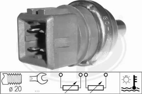 ERA 330497 - Czujnik, temperatura płynu chłodzącego intermotor-polska.com