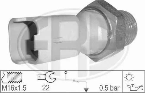 ERA 330026 - Włącznik ciżnieniowy oleju intermotor-polska.com