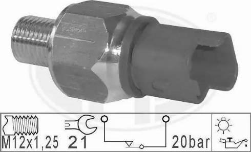 ERA 330801 - Włącznik ciżnieniowy oleju intermotor-polska.com