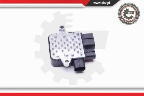 Esen SKV 94SKV805 - Rezystor szeregowy, wentylator klimatyzacji intermotor-polska.com