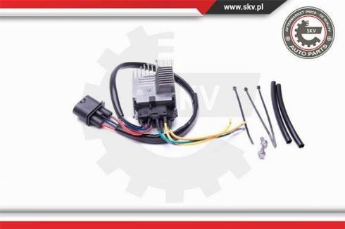 Esen SKV 94SKV800 - Rezystor szeregowy, wentylator klimatyzacji intermotor-polska.com