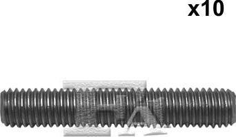 FA1 985-821.10 - Żruba, kolektor wydechowy intermotor-polska.com