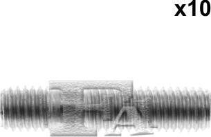 FA1 985-822.10 - Żruba, kolektor wydechowy intermotor-polska.com