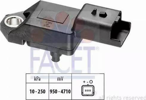 FACET 10.3034 - Czujnik, ciżnienie spalin intermotor-polska.com