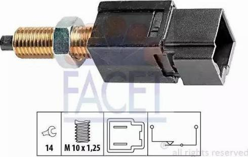 FACET 7.1052 - Włącznik, wysprzęglanie (GRA) intermotor-polska.com