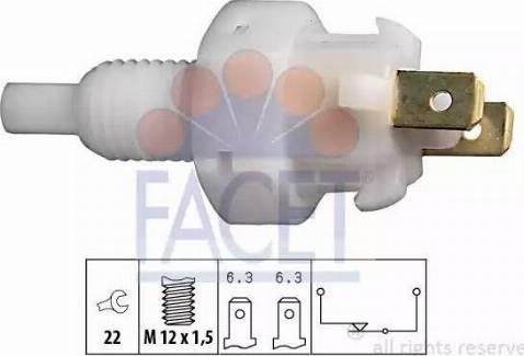FACET 7.1004 - Włącznik żwiateł STOP intermotor-polska.com