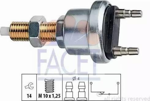 FACET 7.1006 - Włącznik, wysprzęglanie (GRA) intermotor-polska.com
