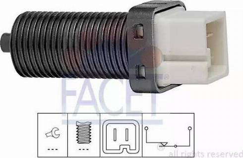 FACET 7.1070 - Włącznik żwiateł STOP intermotor-polska.com