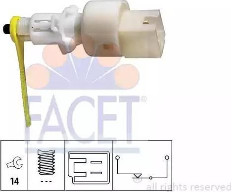 FACET 7.1153 - Włącznik, wysprzęglanie (GRA) intermotor-polska.com