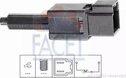 FACET 7.1165 - Włącznik, wysprzęglanie (GRA) intermotor-polska.com