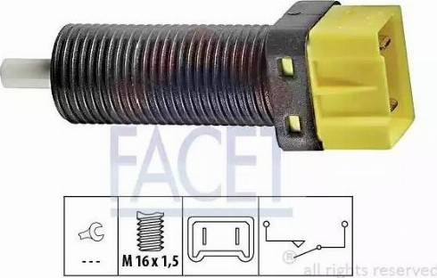 FACET 7.1134 - Włącznik, wysprzęglanie (GRA) intermotor-polska.com