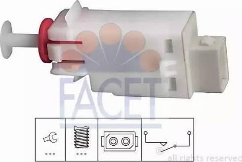 FACET 7.1123 - Włącznik, wysprzęglanie (GRA) intermotor-polska.com