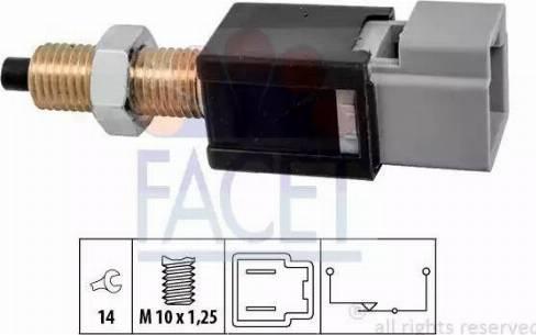 FACET 7.1304 - Włącznik, wysprzęglanie (GRA) intermotor-polska.com