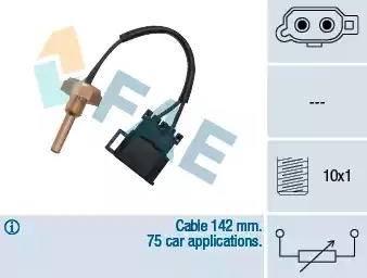 FAE 32370 - Czujnik, temperatura głowicy cylindra intermotor-polska.com