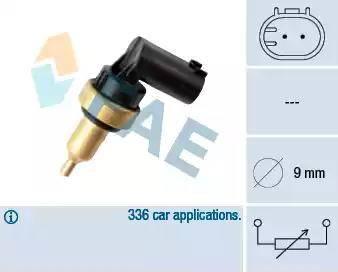 FAE 32706 - Czujnik, temperatura głowicy cylindra intermotor-polska.com