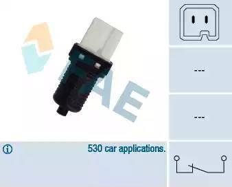 FAE 24440 - Włącznik żwiateł STOP intermotor-polska.com