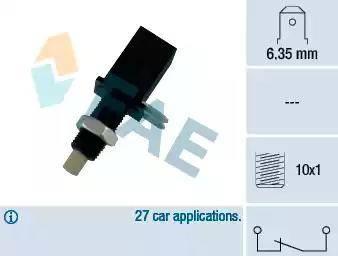FAE 24070 - Włącznik żwiateł STOP intermotor-polska.com