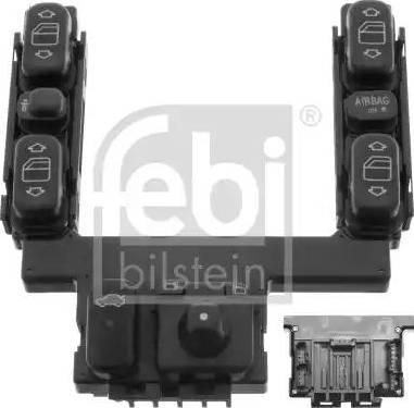 Febi Bilstein 46501 - Włącznik, tylna pokrywa intermotor-polska.com
