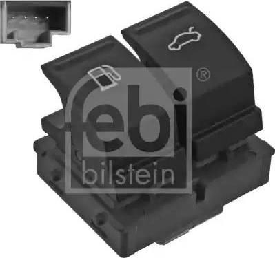 Febi Bilstein 46754 - Włącznik, odblokowywanie pokrywy bagażnika intermotor-polska.com
