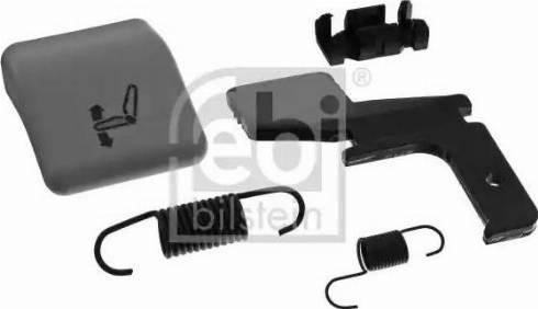 Febi Bilstein 40437 - Element ustalający, dostosowanie siedzenia intermotor-polska.com