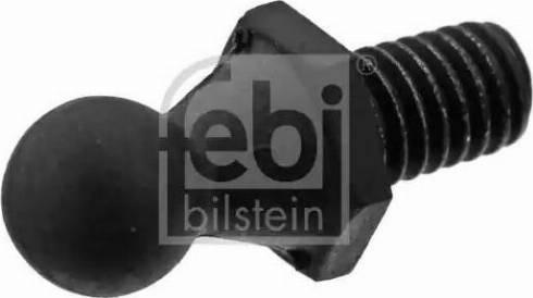 Febi Bilstein 40838 - Element mocujący, pokrywa komory silnika intermotor-polska.com