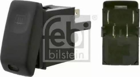 Febi Bilstein 15628 - Włącznik, ogrzewanie tylnej szyby intermotor-polska.com
