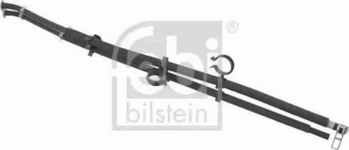 Febi Bilstein 100769 - Przewód elastyczny,regeneracja filtra sadzy / cząstek stał intermotor-polska.com