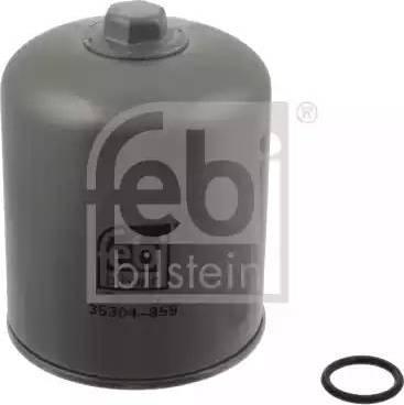 Febi Bilstein 35304 - Wkład osuszacza powietrza, instalacja pneumatyczna intermotor-polska.com