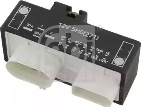 Febi Bilstein 26141 - Przekaznik, mechanizm samonastawny wentylatora intermotor-polska.com