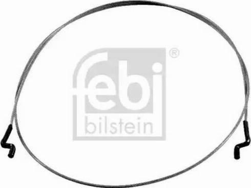 Febi Bilstein 21452 - Cięgno, regulacja położenia oparcia siedzenia intermotor-polska.com