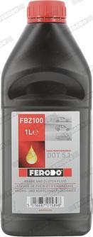 Ferodo FBZ100 - Płyn hamulcowy intermotor-polska.com