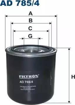Filtron AD 785/4 - Osuszacz powietrza, instalacja pneumatyczna intermotor-polska.com