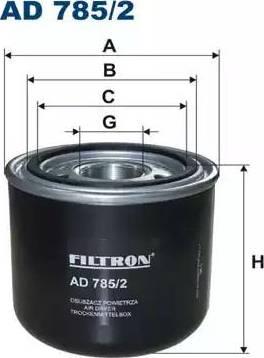 Filtron AD 785/2 - Osuszacz powietrza, instalacja pneumatyczna intermotor-polska.com